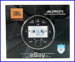 JBL PRV-275 Marine Gauge Hole Radio Boat Receiver with Bluetooth/LCD Screen PRV275