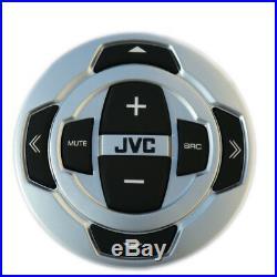 JVC KDX35MBS Bluetooth Boat USB Radio, Marine JVC Wired Remote, Marine Antenna