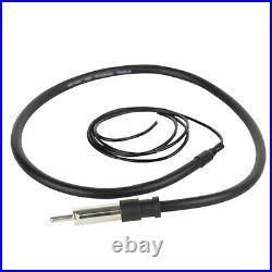 JVC KDX37MBS Marine Receiver, 4x 100-W 6.5 Speaker, Radio Antenna, 50Ft Wire