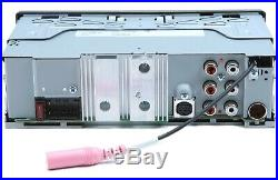 JVC KD-X35MBS MP3/WMA Marine Boat Digital Media Player Bluetooth XM Radio Ready