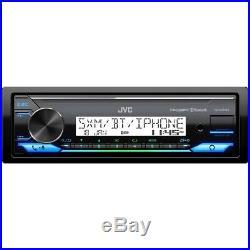JVC KD-X37MBS Marine Stereo Boat Radio Receiver withBluetooth, USB, SiriusXM Ready