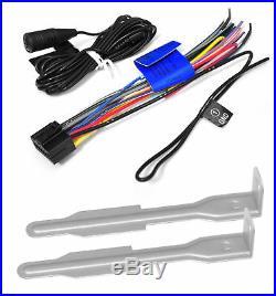 JVC Marine Boat Bluetooth USB AM/FM Radio AUX Input Receiver 4 x 5.25 Speakers