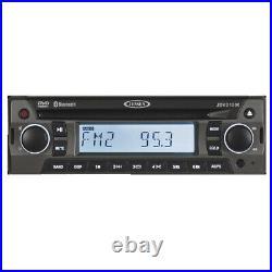 Jensen AM/FM Radio Tuner CD DVD Bluetooth Stereo MP3 Player AMFM Car Boat RV New