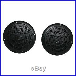 Jensen MS2A Bluetooth USB AM/FM Radio Marine Boat Receiver, 4 x 5 Speakers
