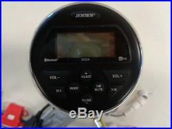 Jensen Ms3atmg Am/fm Usb Bluetooth Stereo / Radio 12v Marine Boat