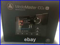 Jl Audio Media Master Mm100s-be Marine Boat Bluetooth Source Unit Usb Radio
