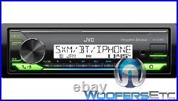 Jvc Kd-x37mbs Marine Digital Media Receiver Bluetooth Usb Aux Sirius XM Ready