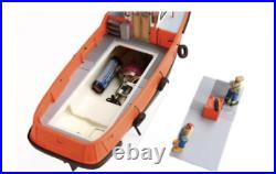 KYMODELS Mooring Tug 132 Scale Boat Assembly Kit for Radio Control