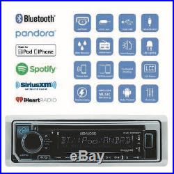 Kenwood KMR-D372BT Marine Boat CD MP3 Radio iPod iPhone Player Stereo Receiver