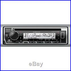 Kenwood KMR-D375BT Single-DIN CD/MP3/USB Marine Boat Radio Stereo withBluetooth