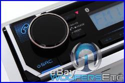 Kenwood Kmr-d372bt CD Usb Aux Ipod Bluetooth Marine Boat Stereo Sirius XM Ready