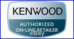 Kenwood Marine Boat Bluetooth Usb Aux Mp3 Radio + 2 X White Marine Speakers