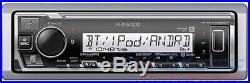 Kenwood Marine Boat Bluetooth Usb Aux Mp3 Radio + 4 X Kenwood Marine Speakers