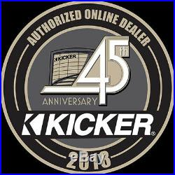 Kenwood Marine Boat Bt Kmr-m322bt Radio + 8 X Kicker Marine Speakers + 600w Amp