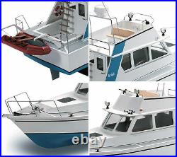 Krick Lisa M Motor Yacht 125 Scale Radio Control Model Boat Kit
