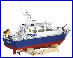 Krick Radio Control Police Motor Launch 120 Scale Model Boat Kit
