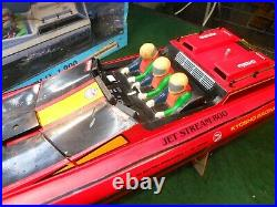 Kyosho 800 Jet Stream Radio Control RC Electric Racing Boat Kit Excellent Cond