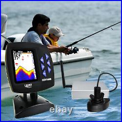 LUCKY Fish Finder Wireless Remote Control 300m/ 980ft Color Display Boat Fishing