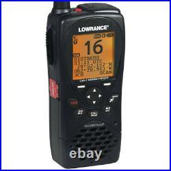 Lowrance Boat Marine Link-2 VHF/GPS Handheld Radio 000-10782-001