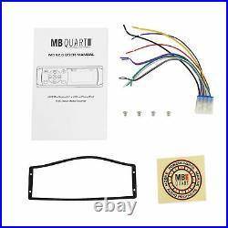 MB Quart MDR2.0 Single DIN Marine/Boat Bluetooth/USB Receiver Radio