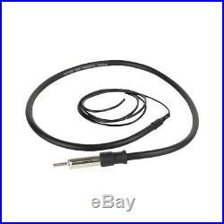 Marine 400W Amplifier, Lanzar Bluetooth AUX Round Radio, Antenna, 6.5Speakers