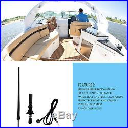 Marine Audio Bluetooth Radio Receiver Boat Stereo +Speaker(2 Pair)+FM/AM Antenna