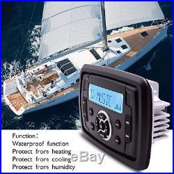 Marine Audio Boat Bluetooth Radio Stereo Receiver ATV+5.25 Car Audio Speakers