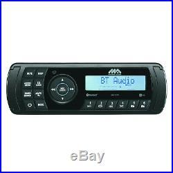 Marine Audio MA200 Water Resistant Digital Media Boat AM FM AUX Radio, Antenna