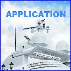 Marine Audio Stereo Bluetooth Receiver Boat FM AM Radio + Waterproof IP66 Aerial