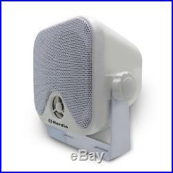 Marine Bluetooth Boat AM/FM Radio Receiver+2 PAIR 4 Marine Speakers+Antenna