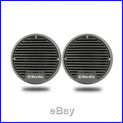 Marine Bluetooth Boat Outdoor Mp3 Player USB+3 Mini Speakers+FM AM Radio Aerial