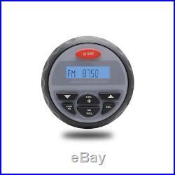 Marine Bluetooth Radio Stereo MP3+3watertight Boat yacht Speakers+FM AM Antenna