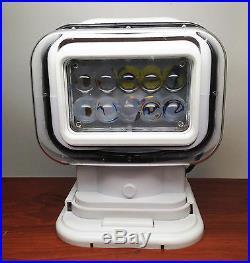 Marine Boat Portable Wireless Remote High Power Led Work Spot Light Ip65