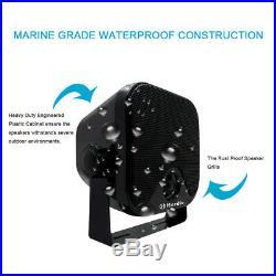 Marine Boat Radio Bluetooth Stereo+4 Heavy Duty Speakers+FM AM Antenna