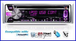 Marine Boat Radio Kenwood iPod iPhone Pandora+Round and Box Speakers, Amp, Cover