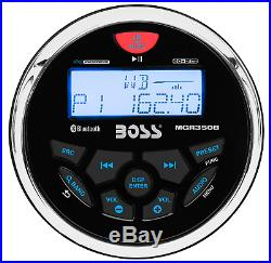 Marine/Boat Speakers System Kit withBluetooth Mechless Stereo Radio