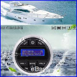 Marine DAB DAB+ Boat Radio Player Waterproof Stereo Bluetooth Audio Yacht ATV UV