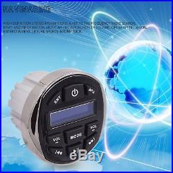 Marine Gauge Mount Headunit Stereo DAB+ Radio Boat Bluetooth Mp3 Player Audio