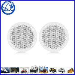 Marine Radio Boat Waterproof Bluetooth Stereo Receiver + 4'' Speaker + Antenna
