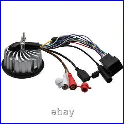 Marine Stereo Bluetooth System Boat FM AM Radio+3 Outdoor Speakers + Antenna