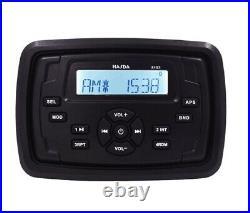 Marine Stereo Boat square Radio Yauht Bluetooth audio sound system for ATV UTV