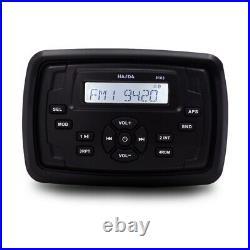 Marine Stereo Radio Bluetooth Audio Capri 220 Waterproof Boat Car MP3 Player