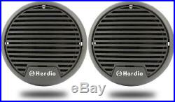 Marine Stereo Speakers Package 4 inches Waterproof Radio Boat Sound System AM FM
