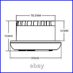 Marine Stereo System Radio Bluetooth Boat 4 Speakers Car Radio Antenna Kit