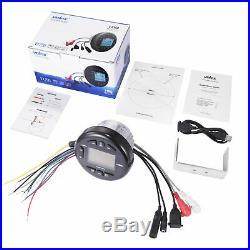 Marine Waterproof Bluetooth Media Stereo Receiver Radio For Boat ATV UTV