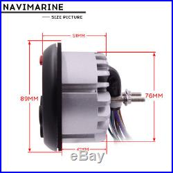 Marine head unit guage Stereo Bluetooth Audio AM/FM Radio+Boat Speakers+Antenna