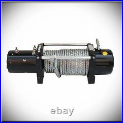 Mute Waterproof 13000lbs DC 12V Electric Auto Brake IP67 Winch Kit