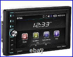 NEW 6.5 Touch Bluetooth Head Unit Media Amplifier Receiver. Stereo Radio. 80x4. SD