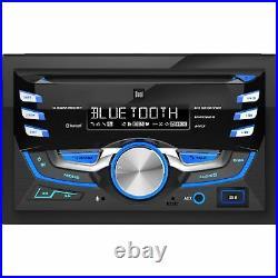 NEW Bluetooth Car Audio Media CD. Unit. DualDin. Amp Reciever. Radio. FM. AM. SD. Ddin