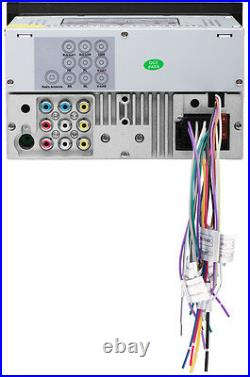 NEW DVD Bluetooth Car Audio CD Head Unit. Receiver. Dualdin. DDIn. Stereo. MP3. Radio